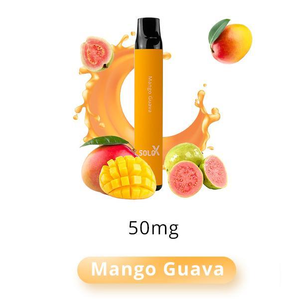 Pod Descartável Mango Guava 1500puffs - Solo X Vapeman
