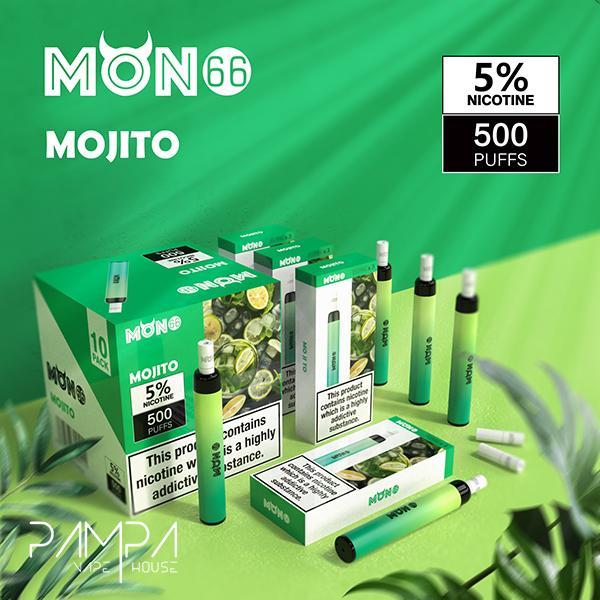 Pod Descartável Mojito - Mon66