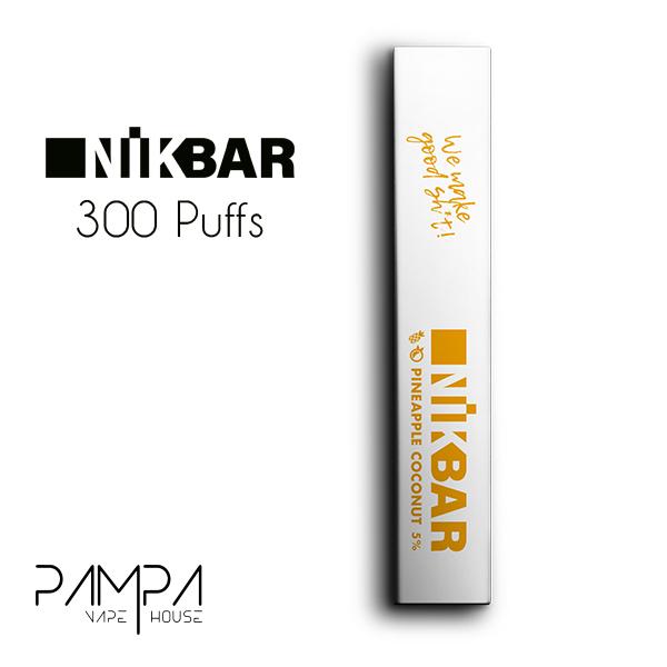 Pod Descartável Pineapple Coconut 300puffs - Nikbar
