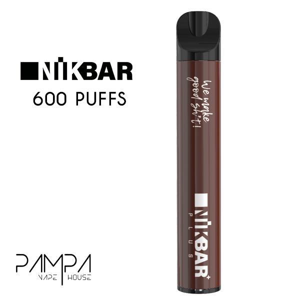 Pod Descartável Tobacco Nutz 600puffs - Nikbar