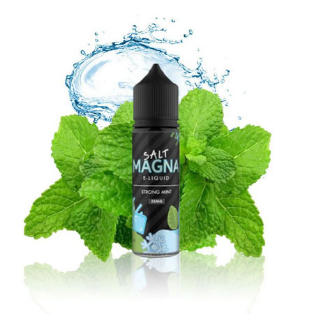 Strong Mint Salt 15ML - Magna E-Liquid