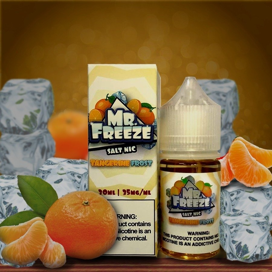 Tangerine Frost Salt 30ML - Mr. Freeze E-Liquid