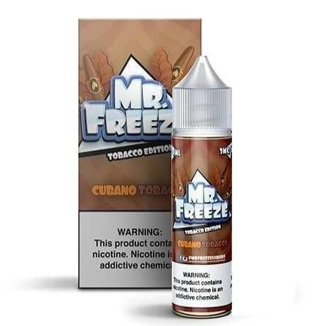Tobacco Cubano 60ML - Mr. Freeze E-Liquid