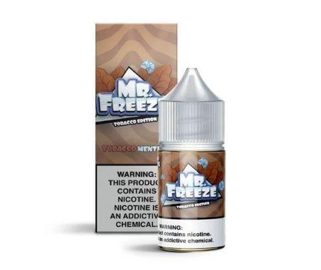 Tobacco Menthol Salt 30ML - MR. Freeze E-Liquid