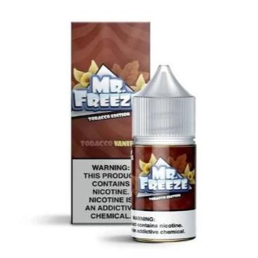 Tobacco Vanilla Salt 30ML - MR. Freeze E-Liquid