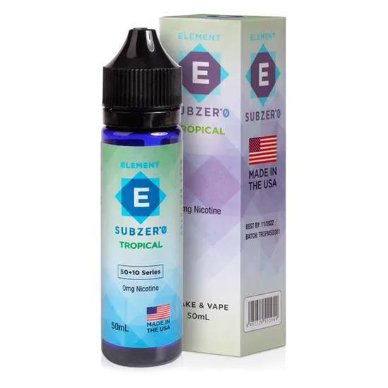 Tropical Subzero MTL 60ML - ELEMENT E-Liquid