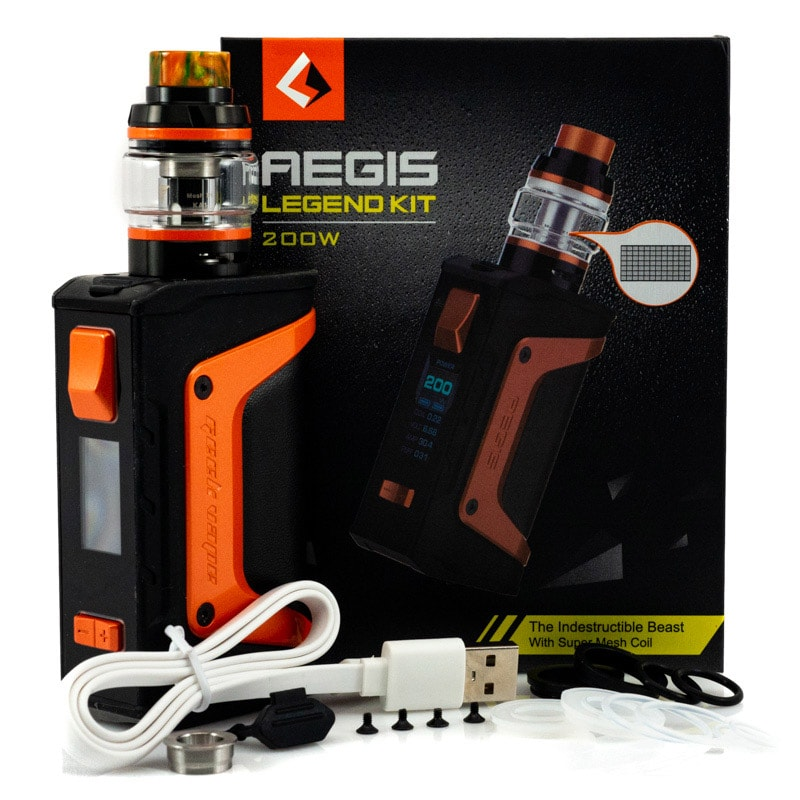Vape Aegis Legend 200W Starter Kit - GeekVape
