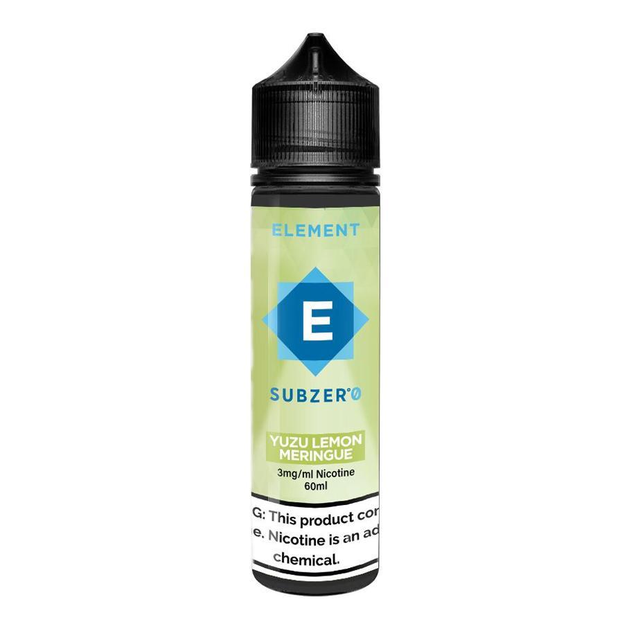 Yuzu Lemon Meringue Subzero 60ML - ELEMENT E-Liquid