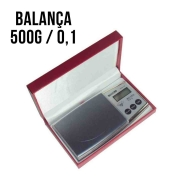 Mini Balança Digital Alta Precisão Diamond 0,1g Até 500g