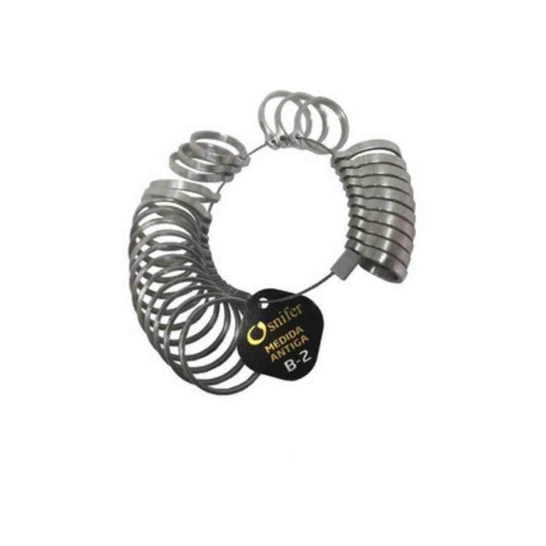 Aneleira Medidor de Dedos - 1 A 35 - Ourives / Joalherias - Osnifer