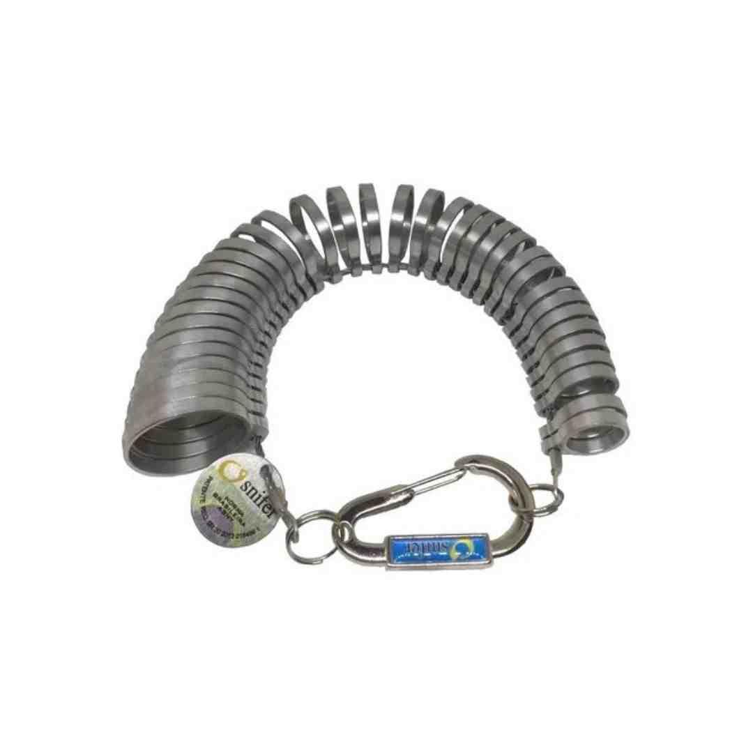 Aneleira Medidor de Dedos - 1 A 36 - Abnt - Ourives / Joalherias - Osnifer
