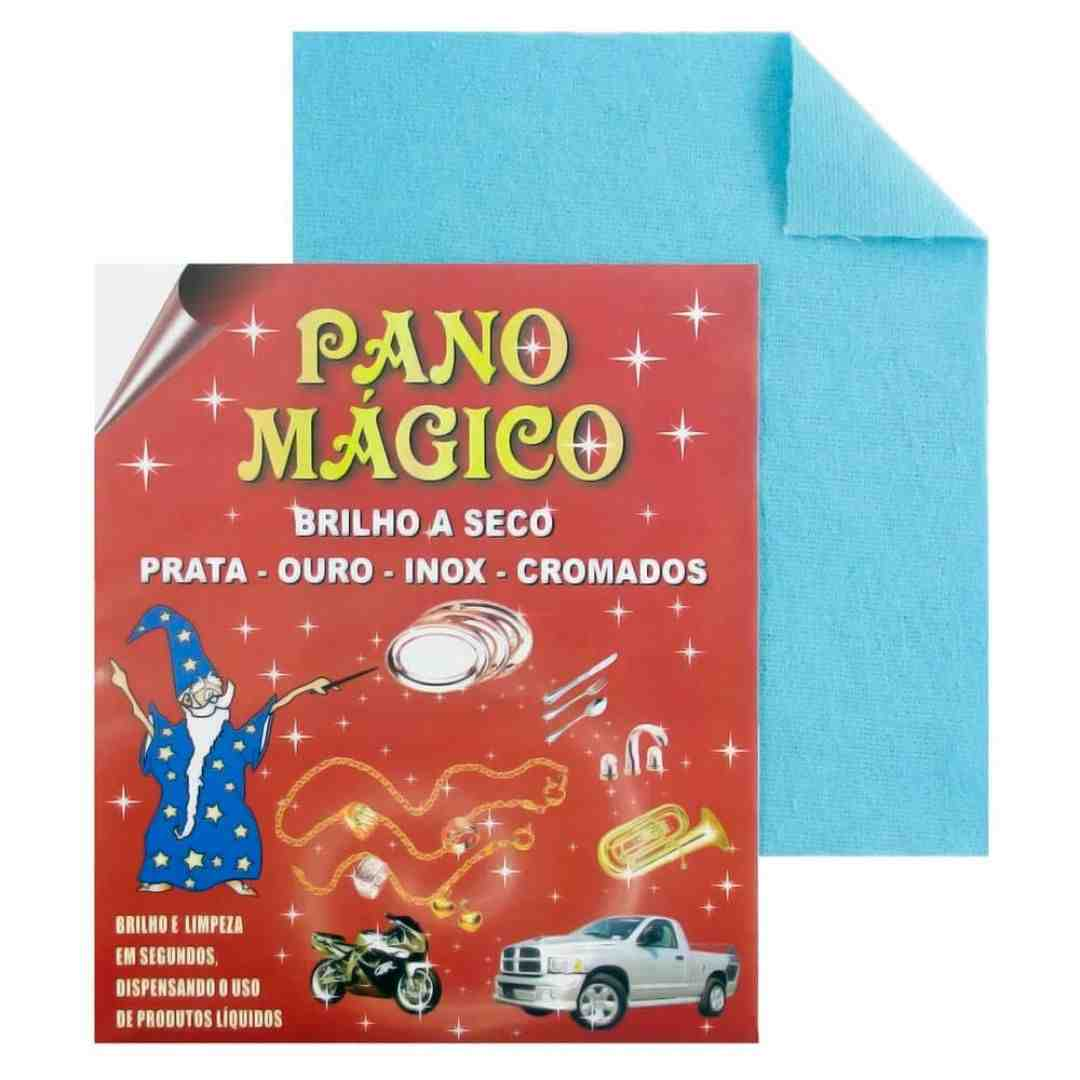 FLANELA PANO MÁGICO AZUL MÉDIO