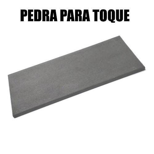 Kit Teste Ouro Prata - Pedra De Toque Grande + Ácido 18k