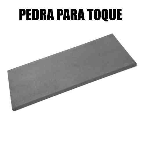 PEDRA DE TOQUE PARA TESTE DE OURO GRANDE (15X7,5CM)