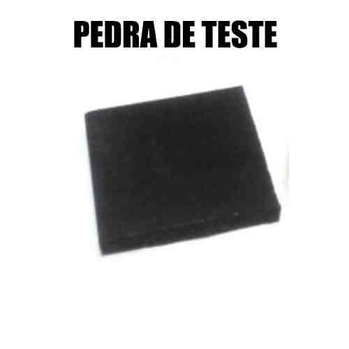 PEDRA DE TOQUE PARA TESTE DE OURO MÉDIA (7X7CM)
