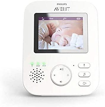Babá Eletrônica Avent com Monitor de 2,7 Bivolt