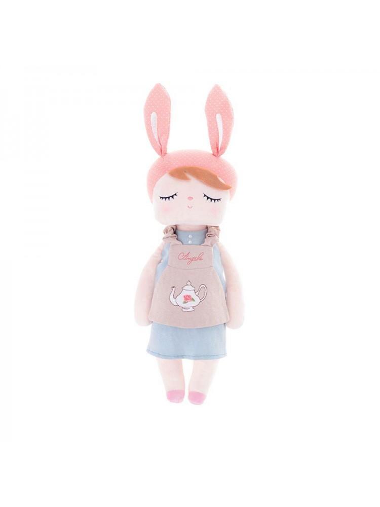 Boneca Metoo Angela Doceira Retro Bunny Rosa 46Cm