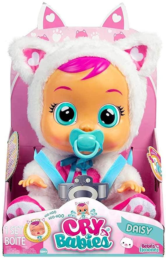 BONECA MULTIKIDS CRY BABIES DAYSE 4