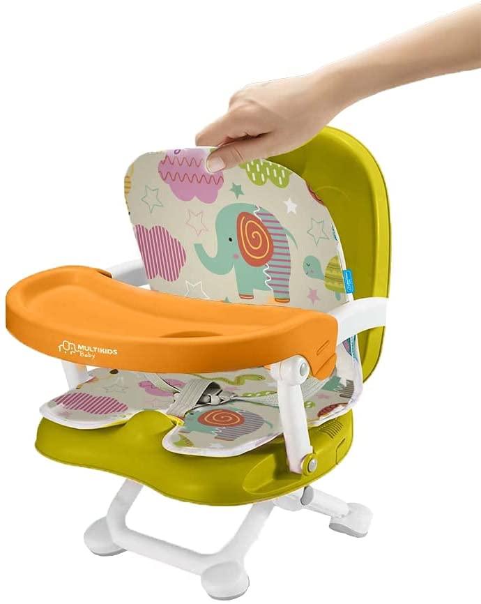 Cadeira De Papa Multikids Portátil Pop N Eat Animais