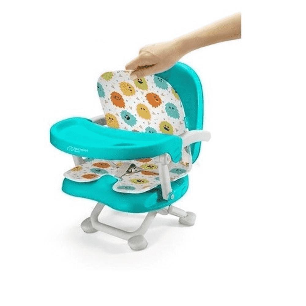 Cadeira De Papa Multikids Portátil Pop N Eat Monstrinhos