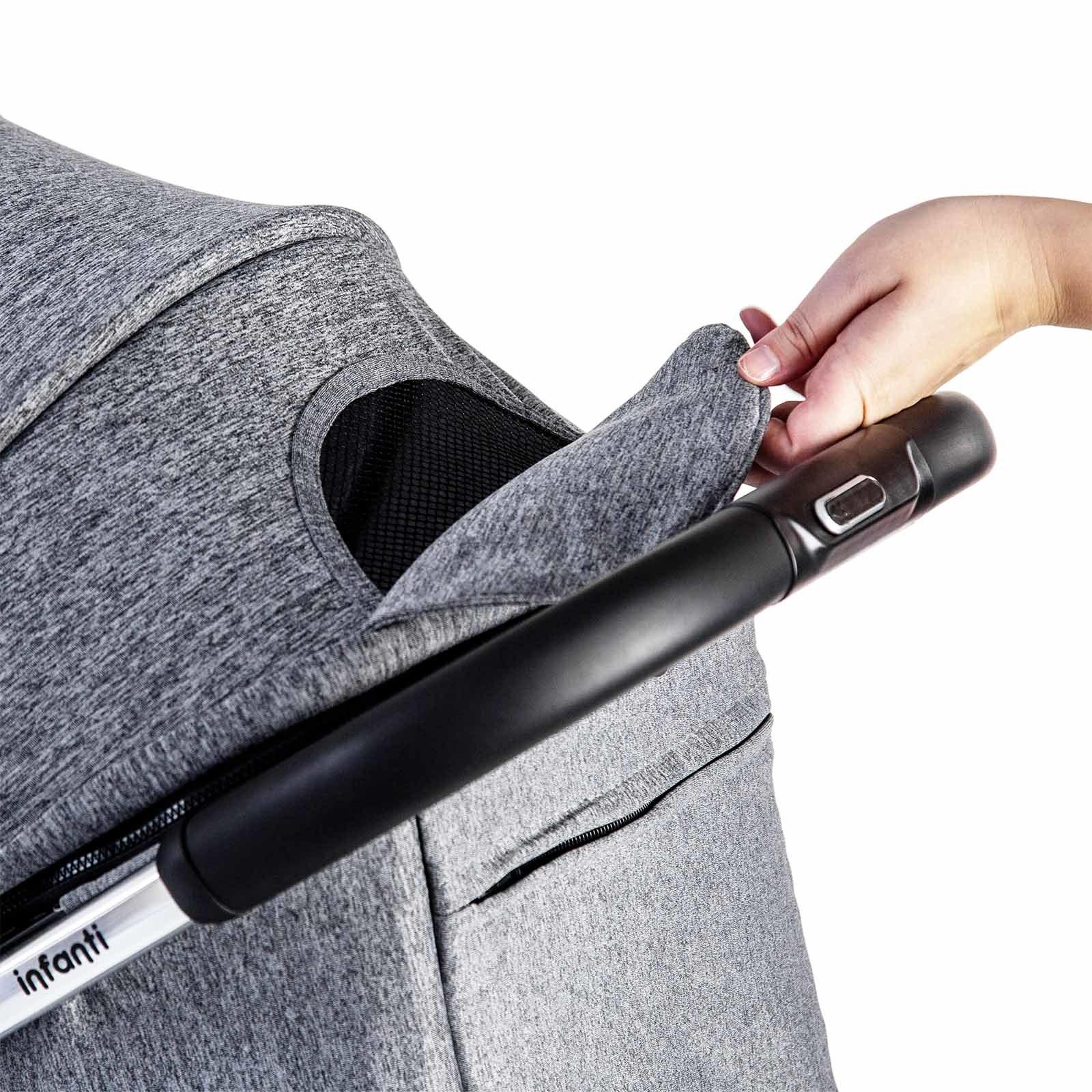 Carro Infanti Legend Duo Travel System Grey Bold