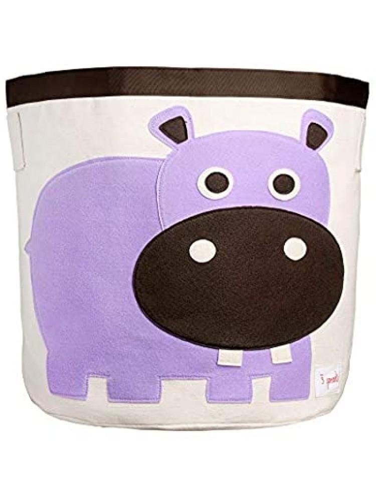 Cesto Organizador 3 Sprouts Redondo Hipopótamo