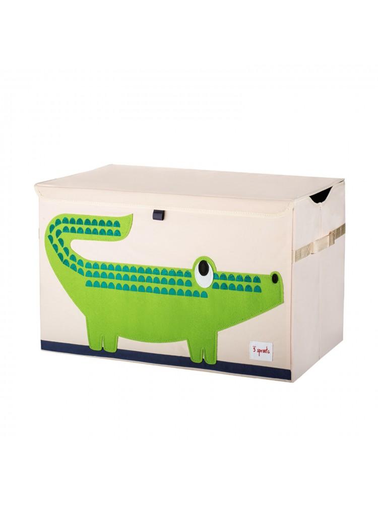 Cesto Organizador 3 Sprouts Retangular Crocodilo