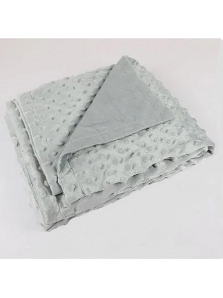 Cobertor Laco Bebê Dots Liso Sem Sherpa