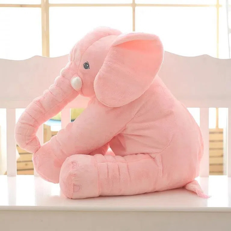 Elefante Buba Gigante Rosa