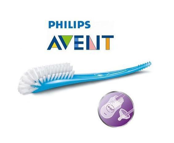Escova Para Mamadeiras Avent Azul
