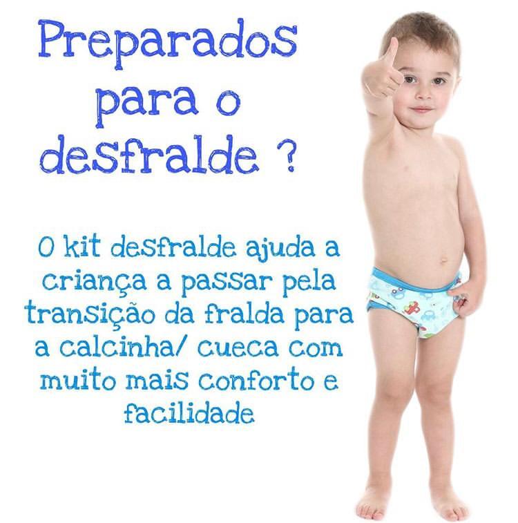 Kit Desfralde Eco E Play 2un Poa Rosa/Branco