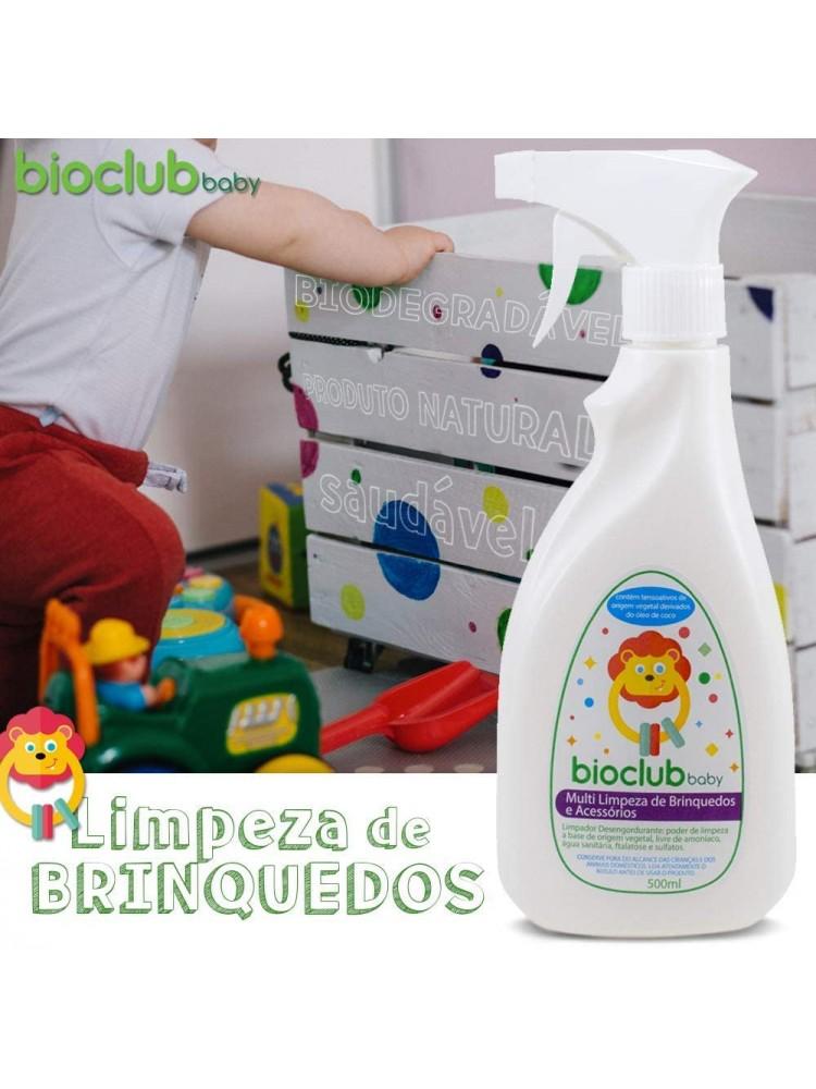 LIMPEZA DE BRINQUEDOS E ACESSORIOS BIOCLUB 500ML