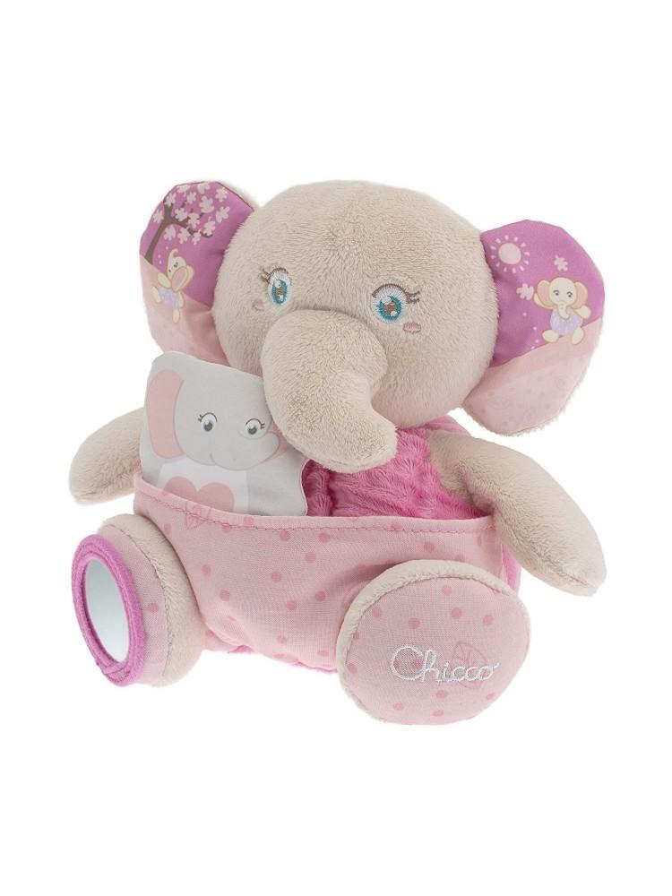 Mamãe Elefante Chicco Soft Cuddles 0m