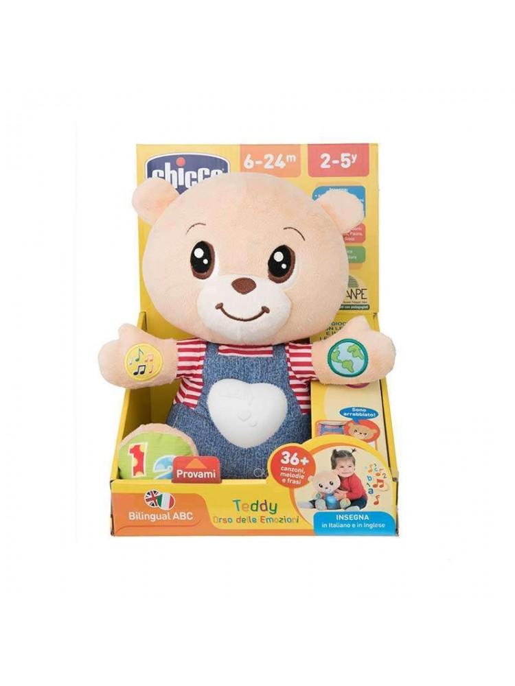 Ursinho Chicco Teddy Das Emoções Bilíngue