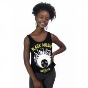 REGATA FEMININA BLACK MUSIC