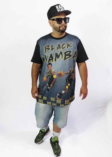 CAMISETA BLACK MAMBA (Kobe Bryant)