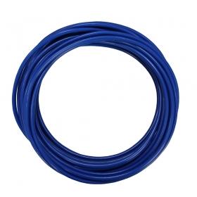 Cabo PP Elétrico Emborrachado Cor Azul Rolo com 10m
