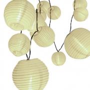 Cordão de luz com bolinhas de papel 3000K 3W 220V