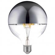 Lâmpada Decorativa Led Defletora Cromada G125 Ballon