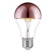 Lâmpada Decorativa Led Defletora Rose Gold A60