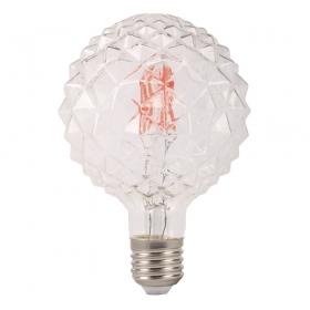 Lâmpada Decorativa Led Modelo Conde Vidro Cristal