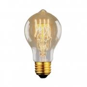 Lâmpada Filamento de Carbono Vintage  A19 40W 110 - 127V