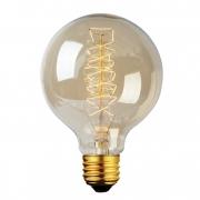 Lâmpada Filamento de Carbono Vintage  G80 40W 110 -127V