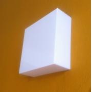 Luminária com sensor de Presença e Fotoc. Quadrada