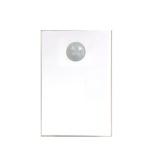 Arandela com Sensor de Presença e fotoc.retangular