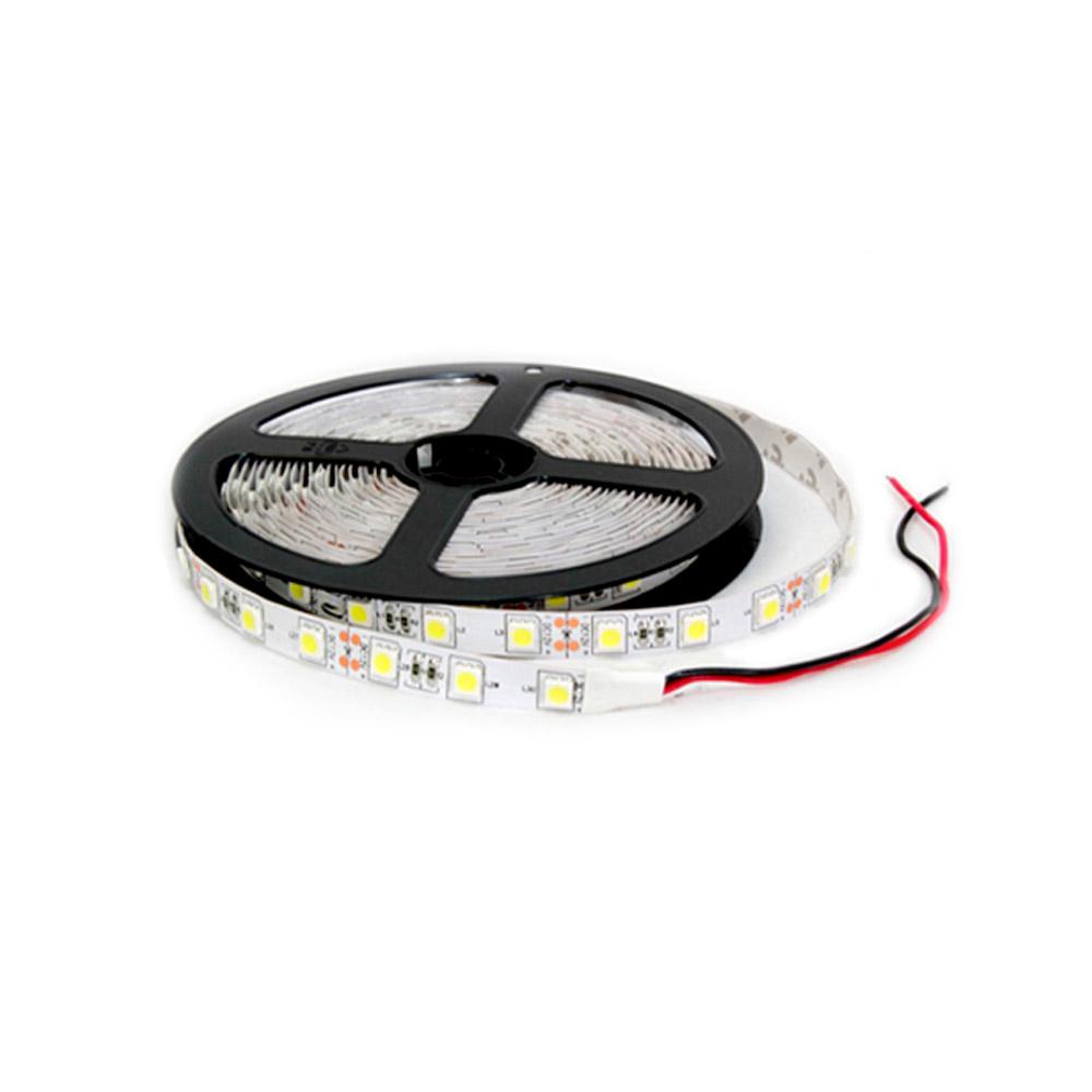Fita LED IP20 (sem silicone) SMD5050 72W 5 metros 3000K