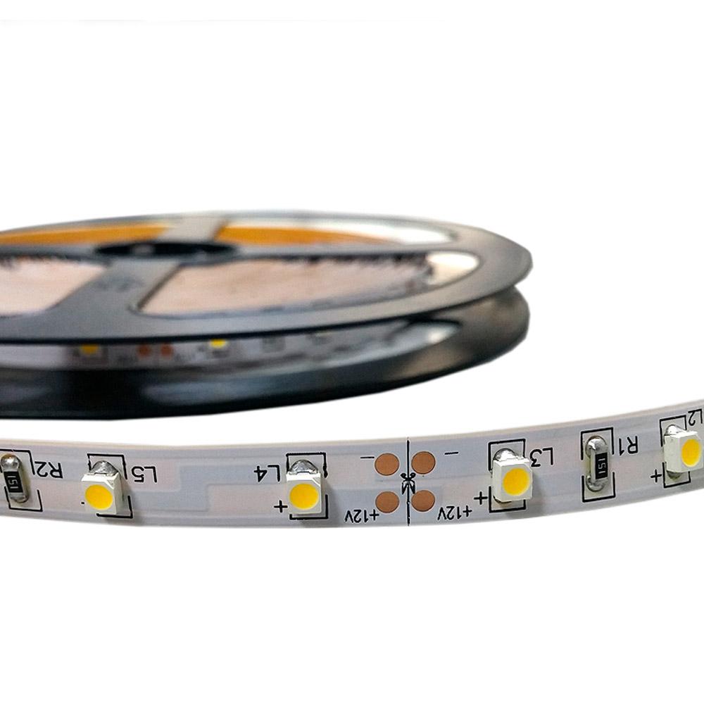 Fita LED IP20 (sem silicone) SMD5050 72W 5 metros 6000K
