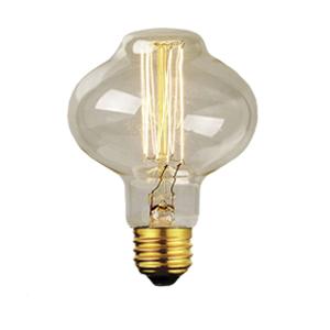 Lâmpada Filamento de Carbono Retro BR-85 40W  110-127V