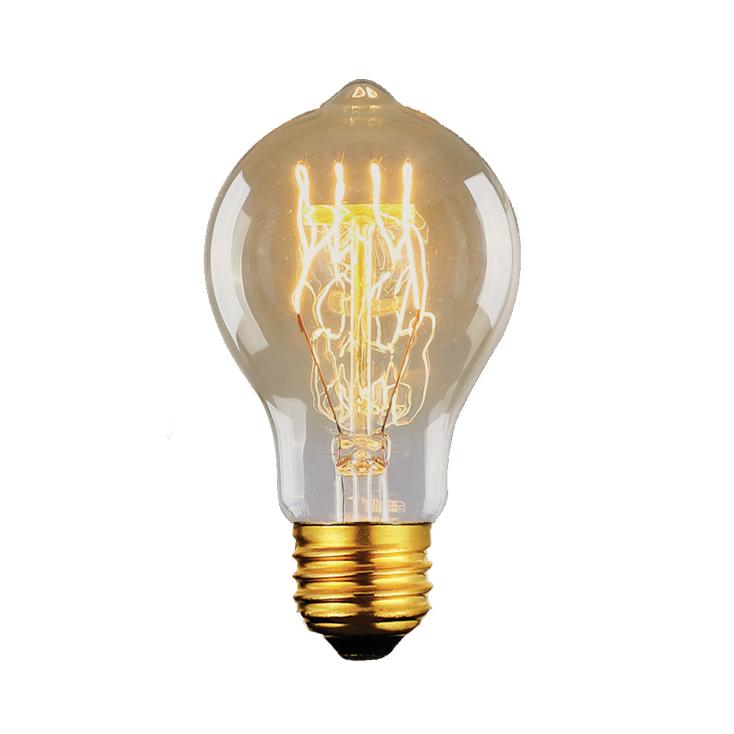 Lâmpada Filamento de Carbono Vintage  A19 40W 220 - 240V