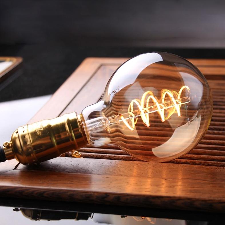 Lãmpada Filamento LED G80 4W BIVOLT